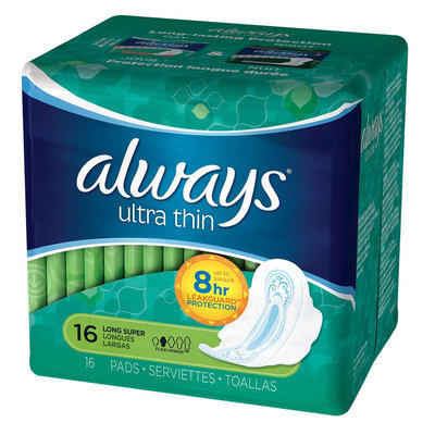 Always Ultra Super Pads w/Flexi-Wings - 16 Count