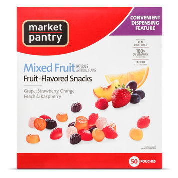 Market Pantry Mixed Fruit Flavored Fruit Snacks