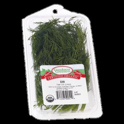 Goodness Greeness Dill Herbs - Organic