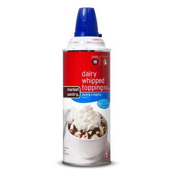 Market Pantry Extra Heavy Whipped Cream 7 oz