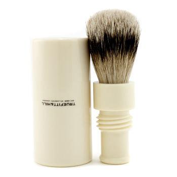 Truefitt & Hill Turnback Traveler Badger Hair Shave Brush - # Ivory 1pc