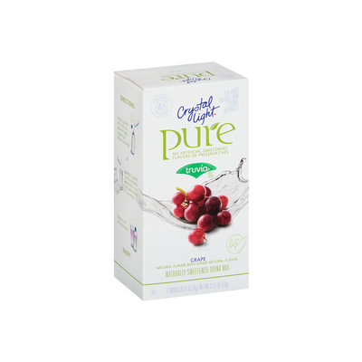 Crystal Light Pure Grape On The Go Drink Mix