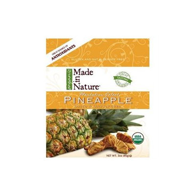 Made In Nature, Organic Pineapple, 3 Oz (85 G)