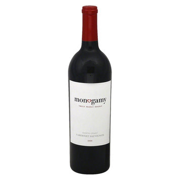 Monogamy Truly Madly Deeply North Coast 2008 Cabernet Sauvignon Wine
