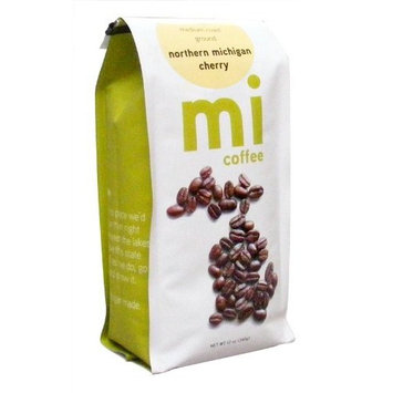 mi Northern Michigan Cherry Ground Coffee, 12-Ounce Bags (Pack of 3)