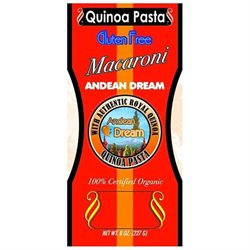 Andean Dream 64337 Org MacAroni Quinoa Pasta Gluten Freef