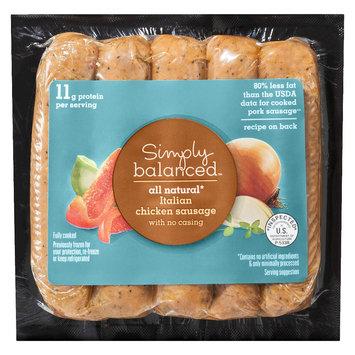 Simply Balanced All Natural Italian Chicken Sausage 12 oz