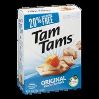 Manischewitz Tam Tams Original Snack Crackers