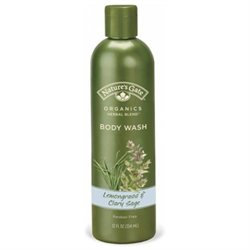 Body Wash Lemongrass and Clary Sage by Nature's Gate - 12oz.