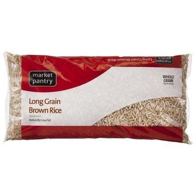 Market Pantry Brown Rice 1 lb