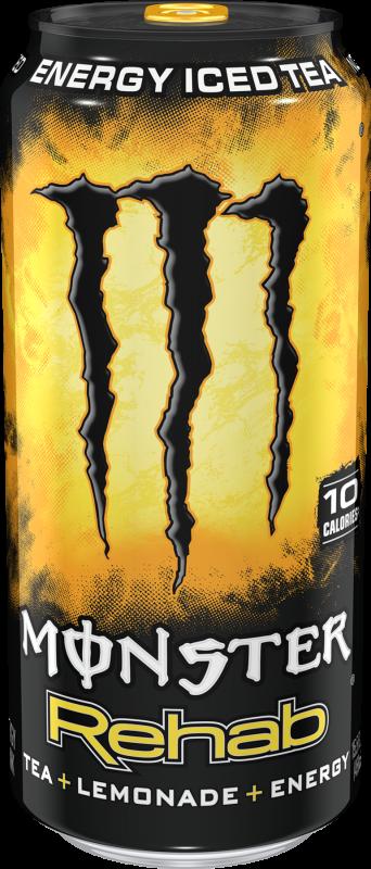 Monster Rehab Tea + Lemonade + Energy