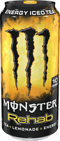 Monster Rehab Tea + Lemonade + Energy