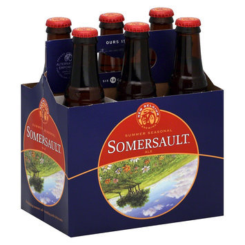 Fat Tire New Belgium Somersault Ale Bottles 12 oz, 6 pk