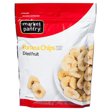 Market Pantry Banana Chips Dried Fruit 4.5 oz