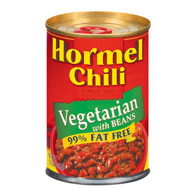 Hormel 99% Fat Free Vegetarian with Beans Chili 15 oz
