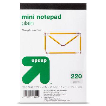 up & up 220ct 4x6 Memo Pad