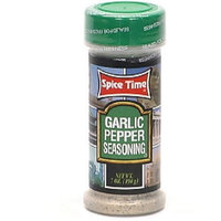 Spice Time Spice Garlic & Pepper, 7-Ounce (Pack of 12)