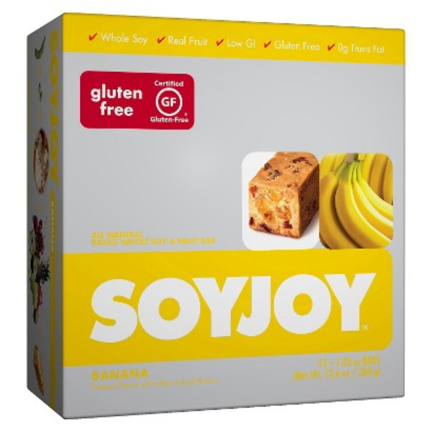 SOYJOY Banana Baked Whole Soy & Fruit Bars