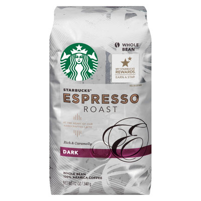Starbucks Espresso Roast Whole Bean 12 oz