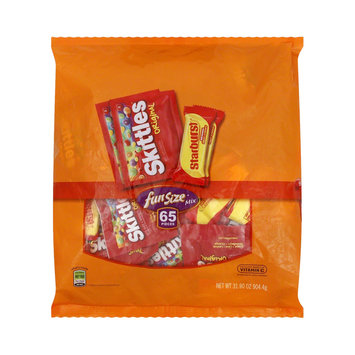 Starburst and Skittles Fun Size Candy Bag