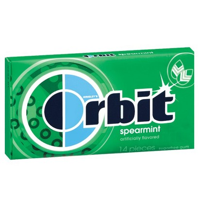 Orbit Spearmint Gum