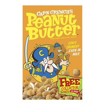 Cap'n Crunch Peanut Butter Sweetened Corn and Oat Cereal 20.7 oz