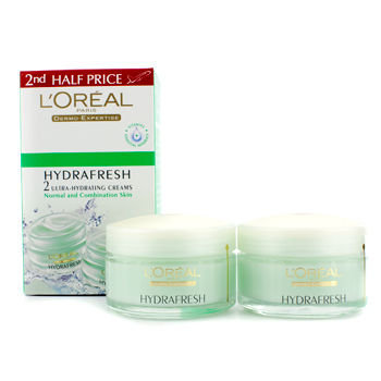 L'Oréal Paris Hydrafresh 2 Ultra-Hydrating Creams (Normal/ Combination Skin)