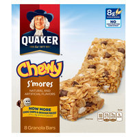 Quaker Chewy Granola Bars, S'mores