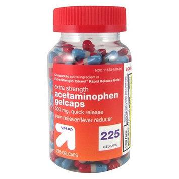 up & up Extra Strength Quick Release Acetaminophen Gelcaps 225-ct.