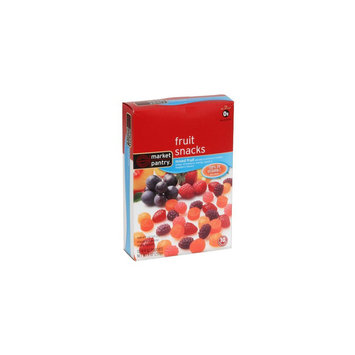 Market Pantry Mixed Fruit Flavored Snacks 10 Count