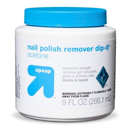 up & up Maximum Strength Acetone Nail Polish Remover Dip-It