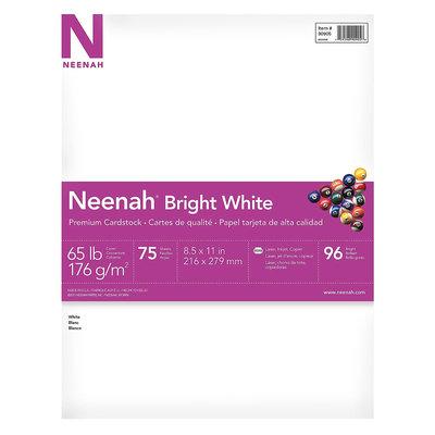 Wausau 75ct 8.5x11 White Premium Cardstock