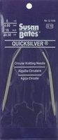 Susan Bates Quicksilver Circular Knitting Needle 29