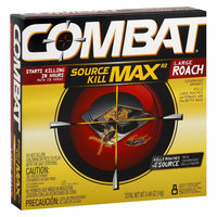 Combat Source Kill Max Large Cockroach Bait Stations 8 Count