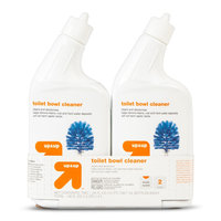 up & up Liquid Toilet Bowl Cleaner - 24 oz, 2 pack