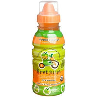 First Juice Organic Apple + Carrot, 8 Ounce Sippy Top Bottle (Pack of 12)
