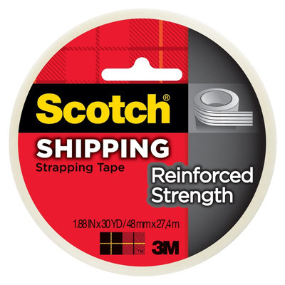 Scotch Strapping Tape 1.88in x 30-yd.