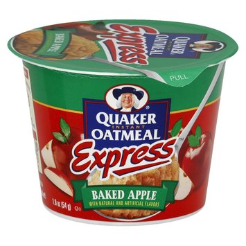 Quaker Express Baked Apple Instant Oatmeal 1.9 oz