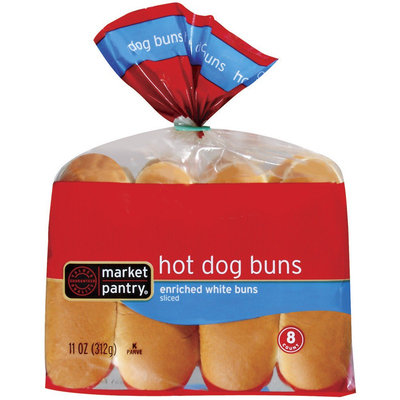 Market Pantry Hot Dog Buns 8 Count