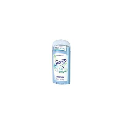 Secret pH Balanced Unscented Invisible Solid Antiperspirant/Deodorant
