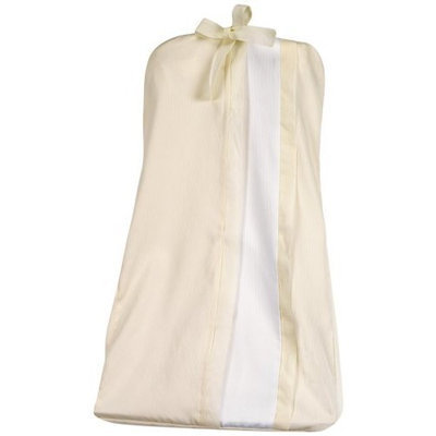 Picci Cortina Diaper Stacker in Cream and White