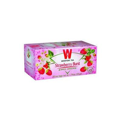 Wissotzky Tea Strawberry Burst Tea / Box of 20 bags