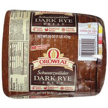 Oroweat Schwarzwalder Dark Rye Bread 16-oz.
