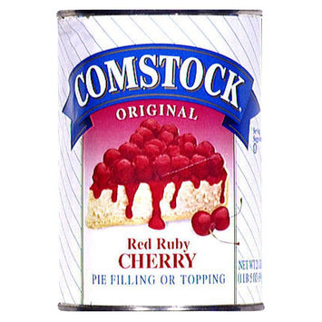 Comstock Original Red Ruby Cherry Pie Filling or Topping 21 oz