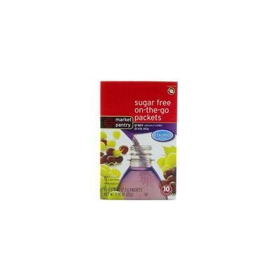 Market Pantry Sugar-Free Grape Drink Mix 10 Count