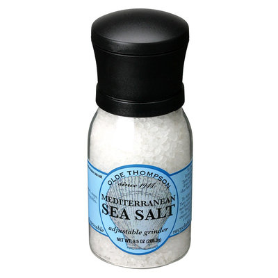 Olde Thompson Adjustable Grinder Mediterranean Sea Salt
