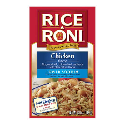 Rice A Roni Lower Sodium Chicken Flavor Rice 6.9 oz