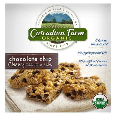 Cascadian Farm Organic Chocolate Chip Chewy Granola Bars 6 pk