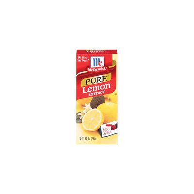 McCormick Pure Lemon Extract 1 oz