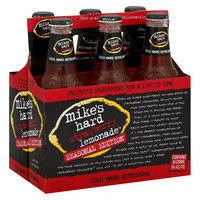 Mike's Hard Strawberry Lemonade Premium Malt Beverage 12 oz, 6 pk
